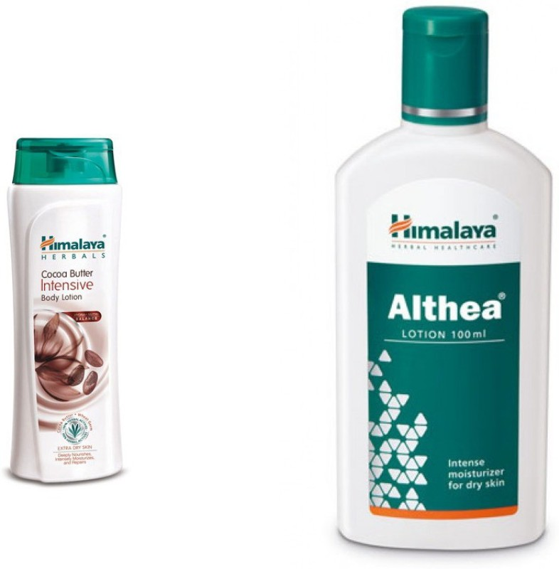 Himalaya coca butter intensive body lotion, Althea lotion(Set of 2)