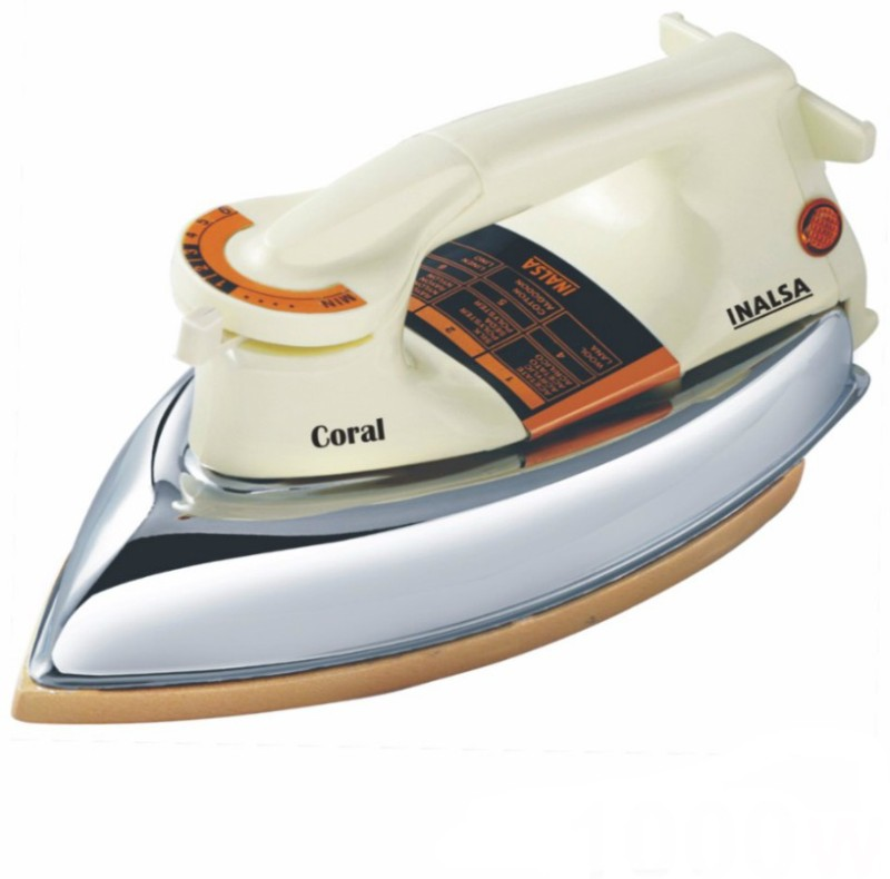 Inalsa Coral Dry Iron(White)