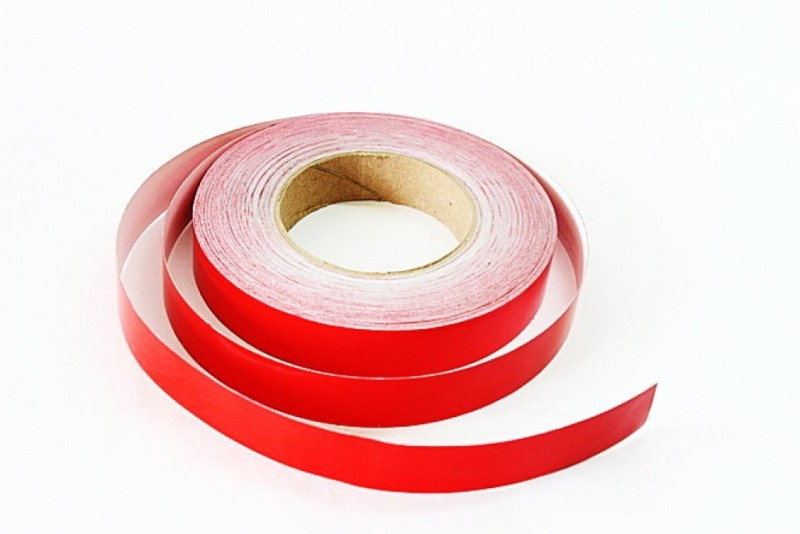 Laps of Luxury GD369 Red Radium 25.4 mm x 7.31 m Red Reflective Tape(Pack of 1)