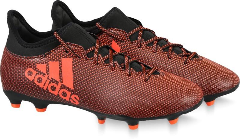 ADIDAS X 17.3 FG Football Shoes For Men(Black)