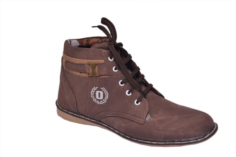 Rimoni Boots(Brown)
