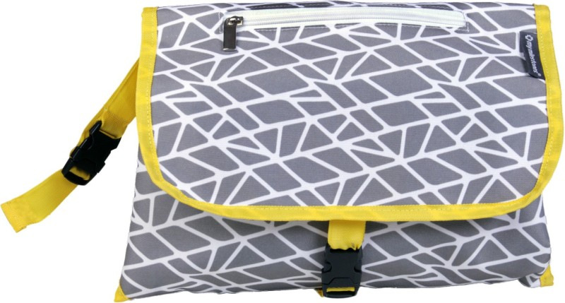 My Milestones Insta Diaper Changing System Changing Pad Grey Mosaic Changing Station(Grey)