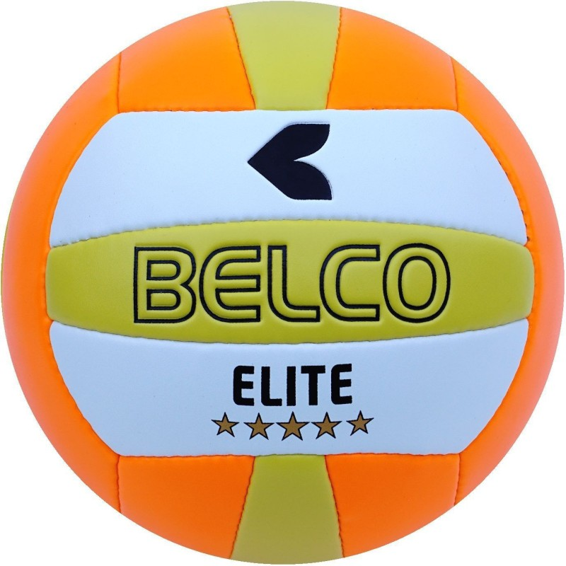 BELCO Elit-2(ORANGE) Volleyball - Size: 4(Pack of 1, Orange)