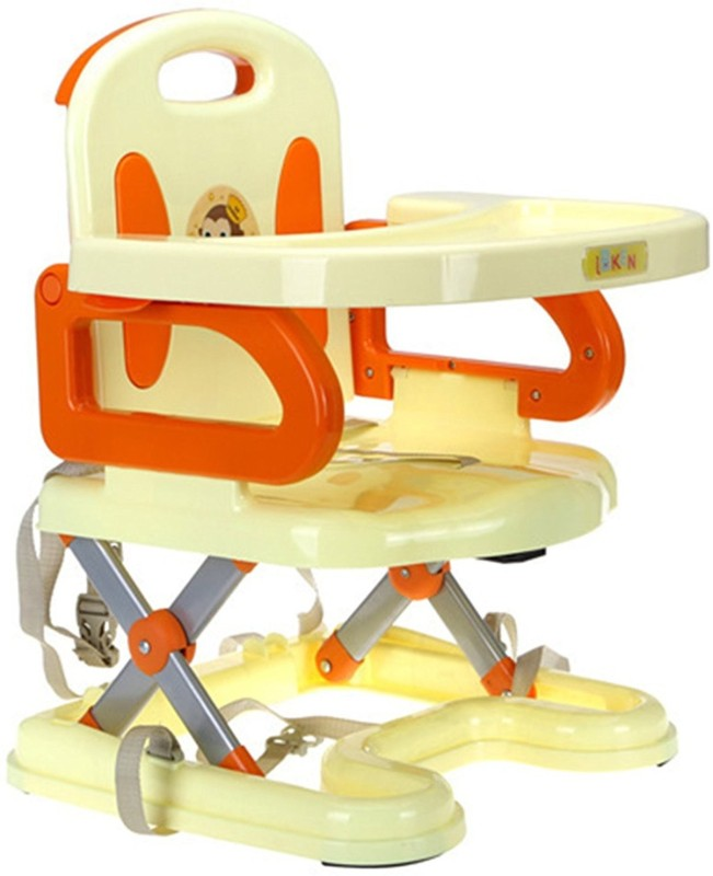 Wishkey Baby Folding Dinning Chair(Yellow)