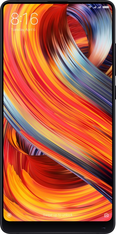 Mi Mix 2 (Black, 128 GB)(6 GB RAM)