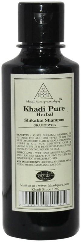 Khadi Pure Herbal Shikakai Shampoo(210 ml)