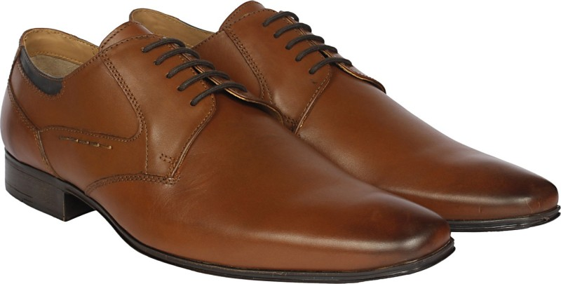 Ruosh Lace Up For Men(Tan)