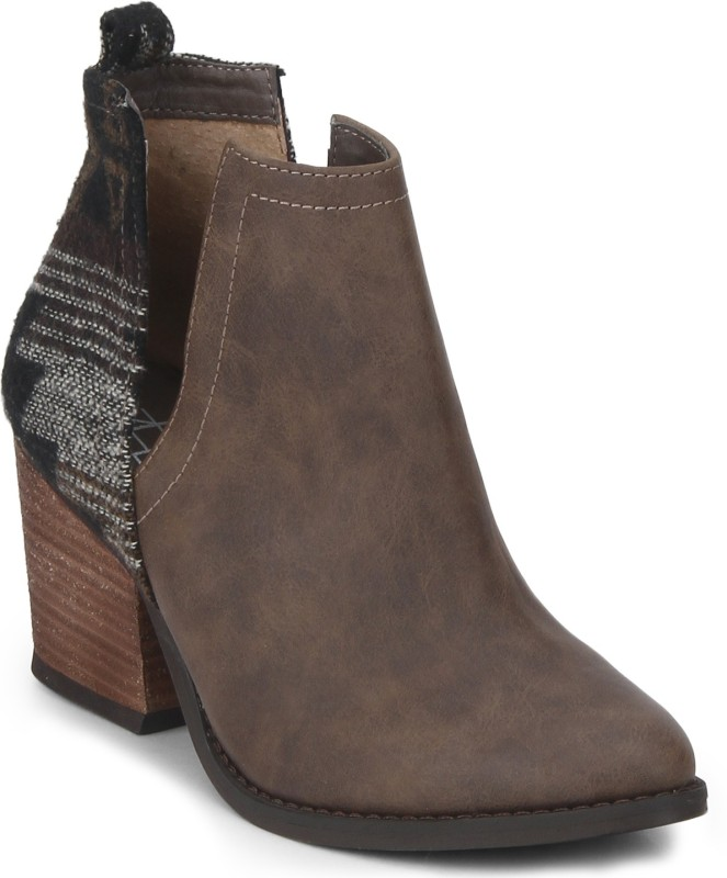ZEBBA Boots For Women(Brown)