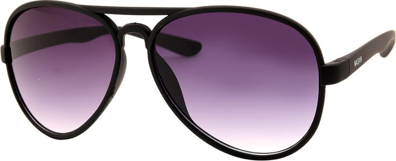 NASAN Aviator Sunglasses(Violet) image