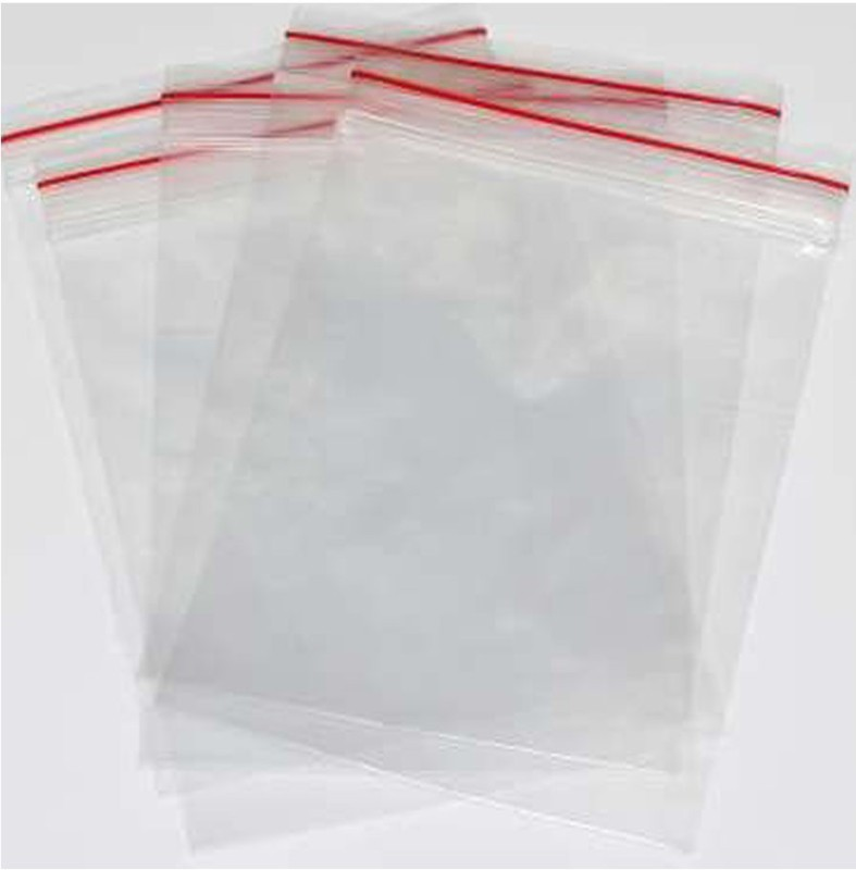 shopely Resealable Plastic Air Tight Pouch(Clear Pack of 300)
