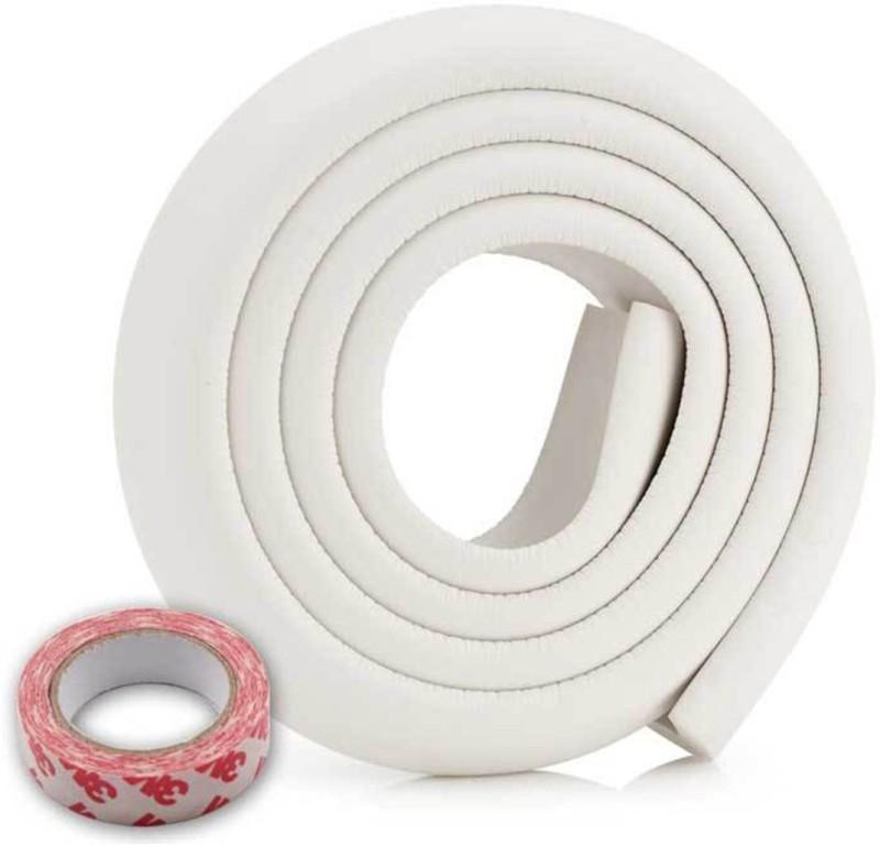 babycorner 1 Piece 200CM Child Baby Safety Products Glass table Edge Furniture Guard Strip, Corner foam Bumper Collision Protector (Colour: White) 1 Piece(White)