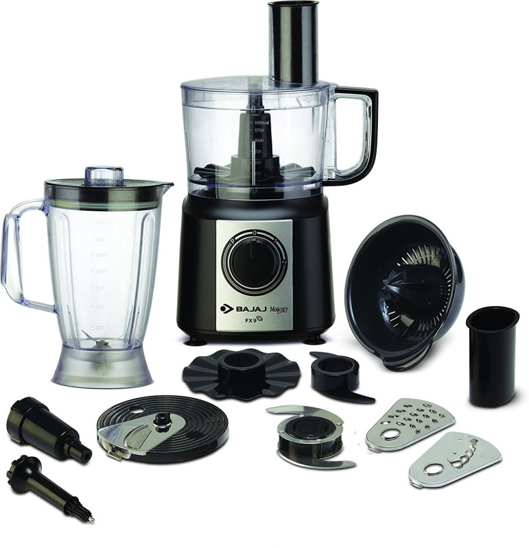 Bajaj Majesty FX9 700 W Food Processor(Black, Silver)