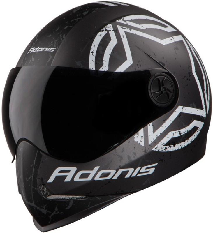 Steelbird Yooshopper SBH-1 ADONIS TROPPER Matt Finish Motorbike Helmet(Charcoal Grey)