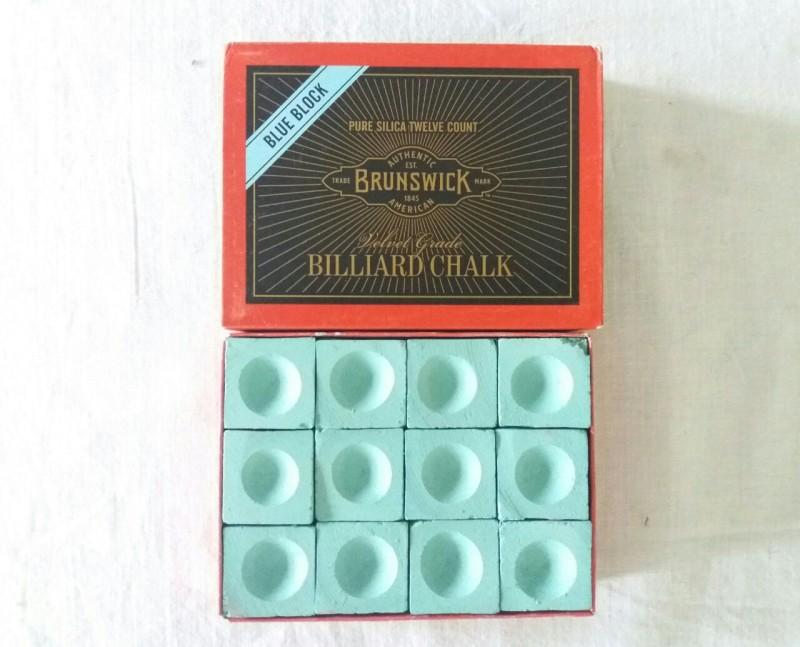 21 Balls BRNSWICK 5A CHALK Billiard Ball(Pack of 1, Green)