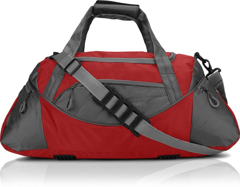 Novex Lite Gym bag(Red, Kit Bag)