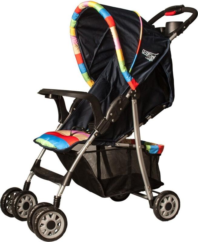 U-grow Baby Folding Stroller (Blue) Stroller(3, Blue)