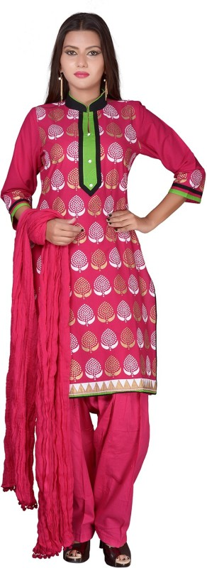 SSK FASHION Printed Kurti & Salwar(Stitched)