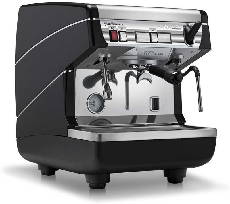 NUOVA SIMONELLI APPIA I 25 Cups Coffee Maker(BLACK SILVER)