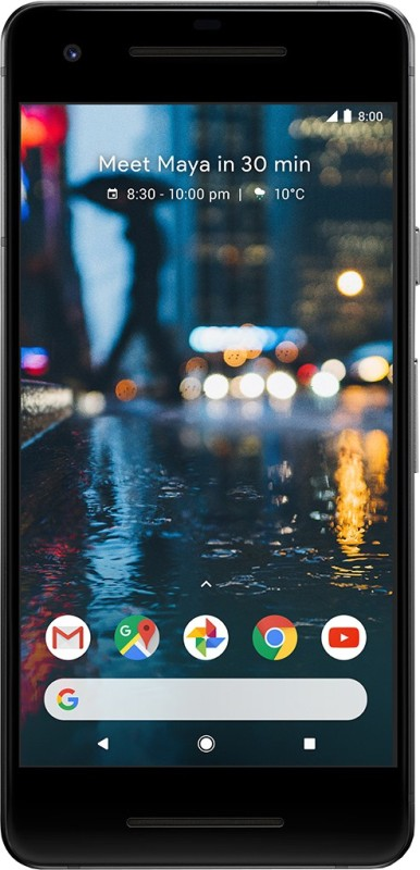Google Pixel 2 (Just Black, 128 GB)(4 GB RAM)