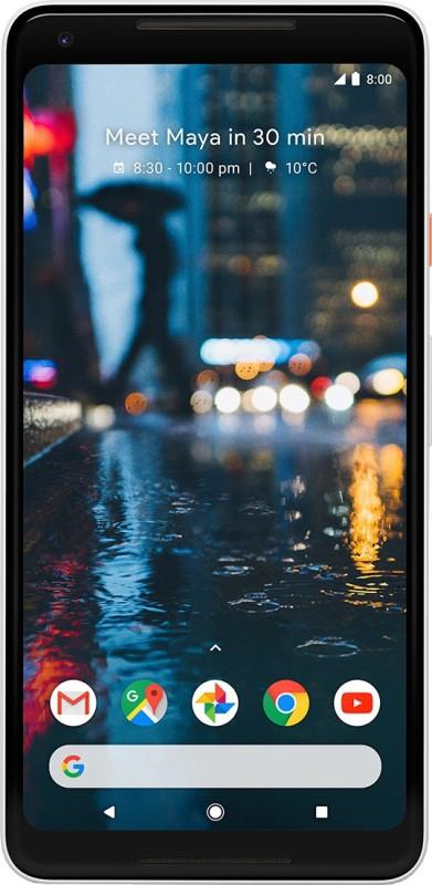 Google Pixel 2 XL (Black & White, 128 GB)(4 GB...