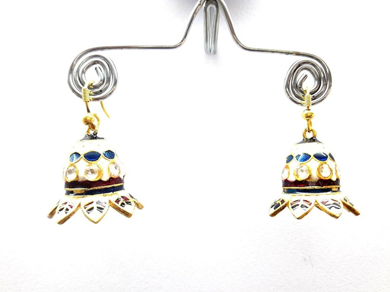 BESDEALS.IN Jaipur Collection Rajasthani Jhumka/Jhumki Earrings for Women - Design4 Metal Drops & Danglers