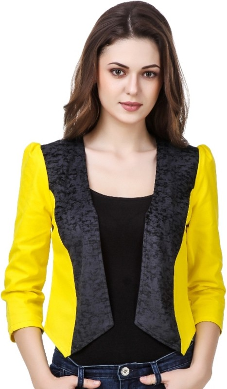 99 Affair Full Sleeve Geometric Print Women Jacket