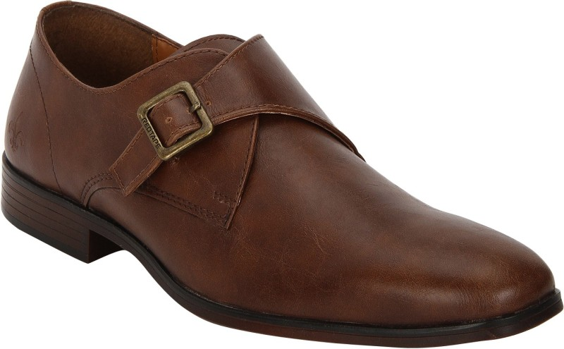 Bond Street By Red Tape Men Formal Monk Strap For Men(Tan)