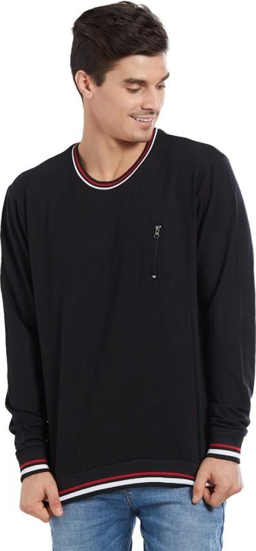 Deezeno Full Sleeve Solid Men's Sweatshirt