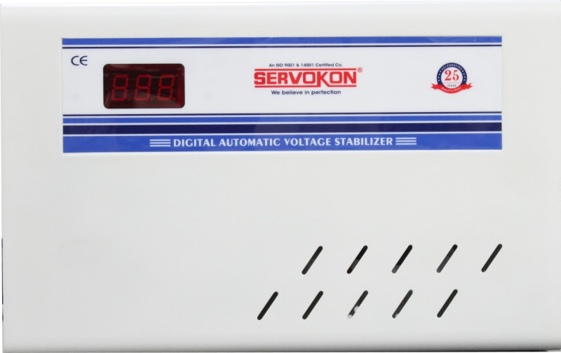 servokon SK 413 A AC Voltage Stabilizer(White)