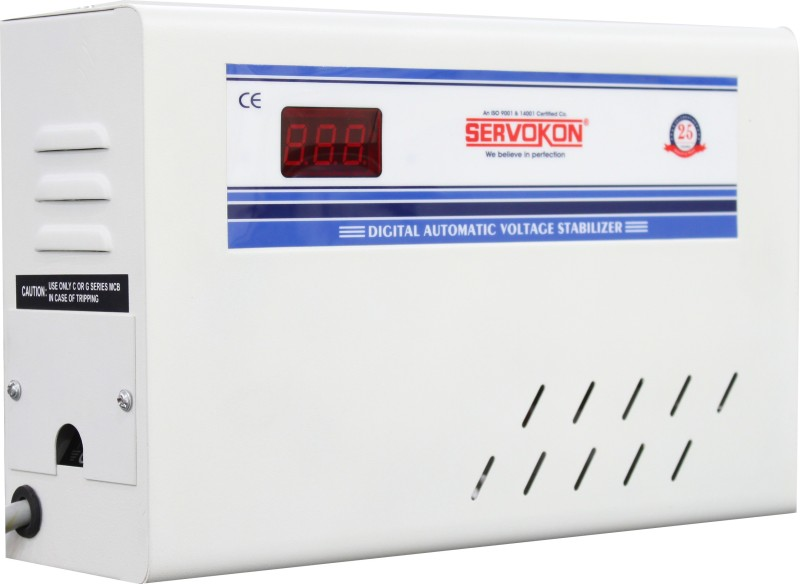 servokon SK 517 A AC Voltage Stabilizer(White)