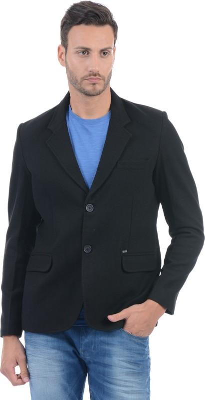 Pepe Jeans Full Sleeve Solid Mens Jacket