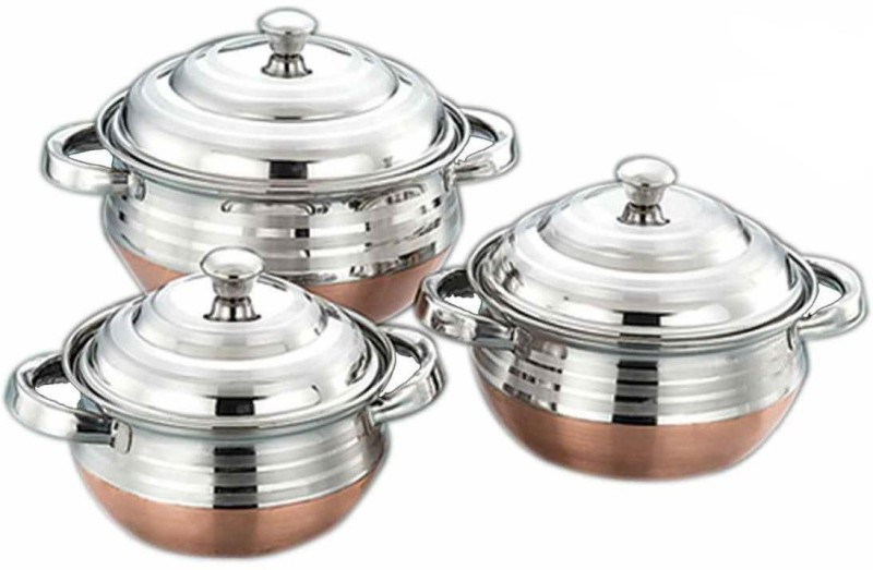 AIRAN Airan Bollywood Collection Cookware Set(Steel, 1 - Piece)