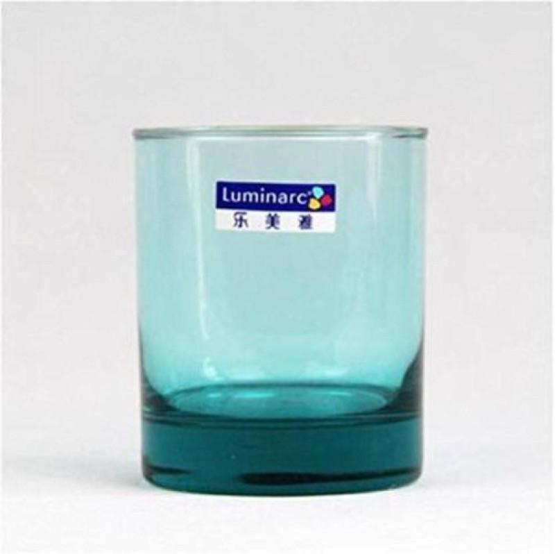 LUMINARC J0834 Glass Set(220 ml, Green, Pack of 6)