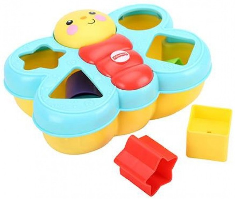 Fisher-Price Butterfly Shape Sorter(Multicolor)