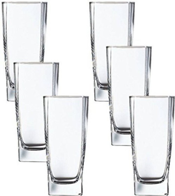 LUMINARC Glass Set(330 ml, Clear, Pack of 6)