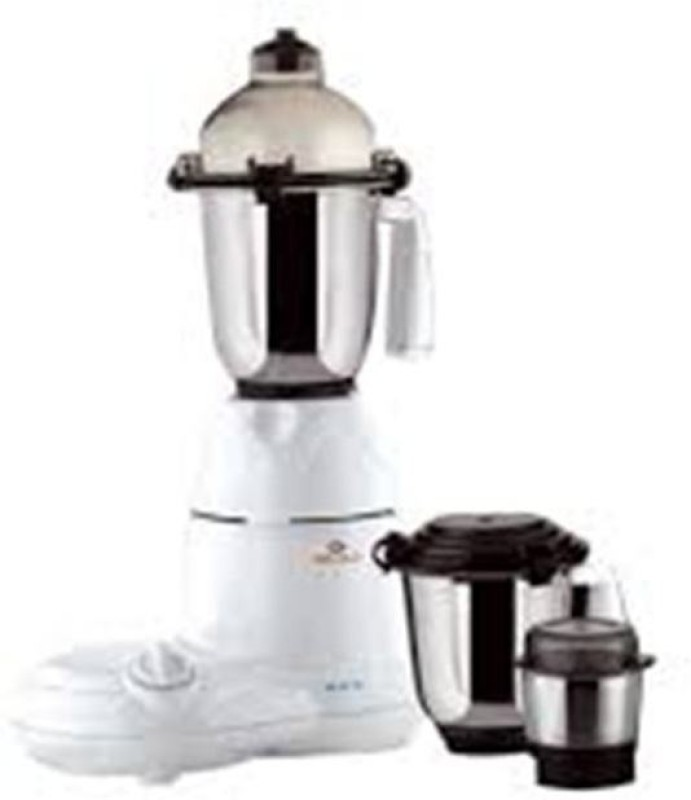 Bajaj gx10 600 Mixer Grinder(White, 3 Jars)