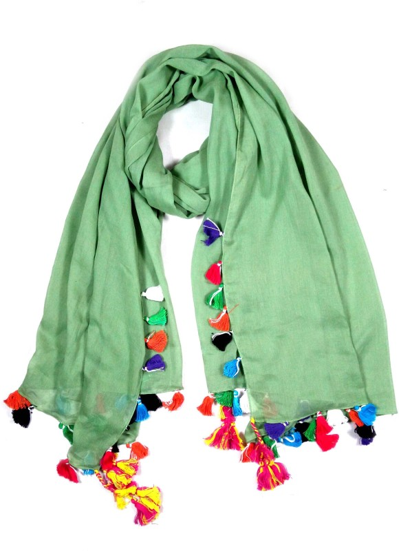 Stylezee Solid Cotton Womens Stole