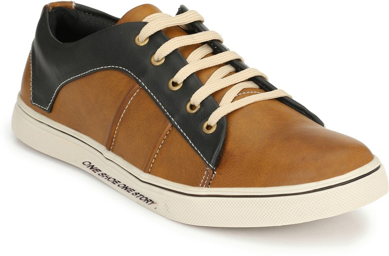 Prolific Lite Sneakers For Men(Tan, Black)