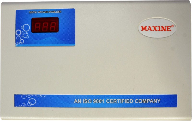 Maxine 5kva Triple Booster AC Stabilizer ( Pick Up From 140v)(White)