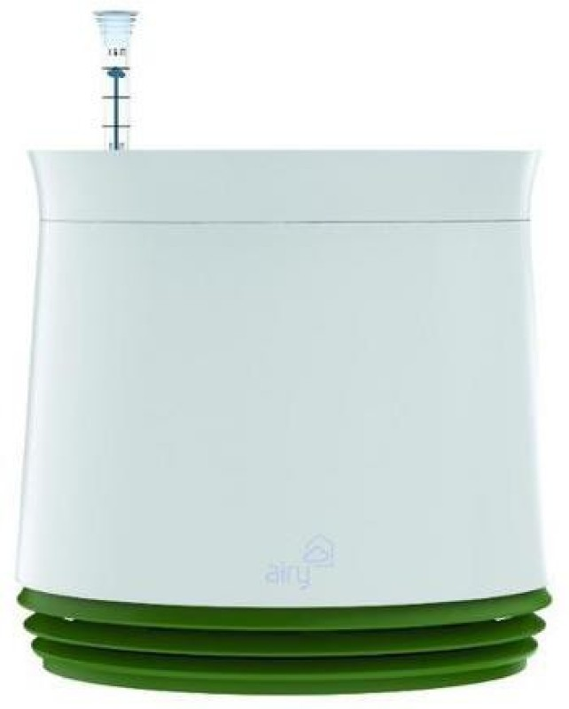 The Tree Company AIRY Natural Air Purifier White Green Portable Room Air Purifier(White)