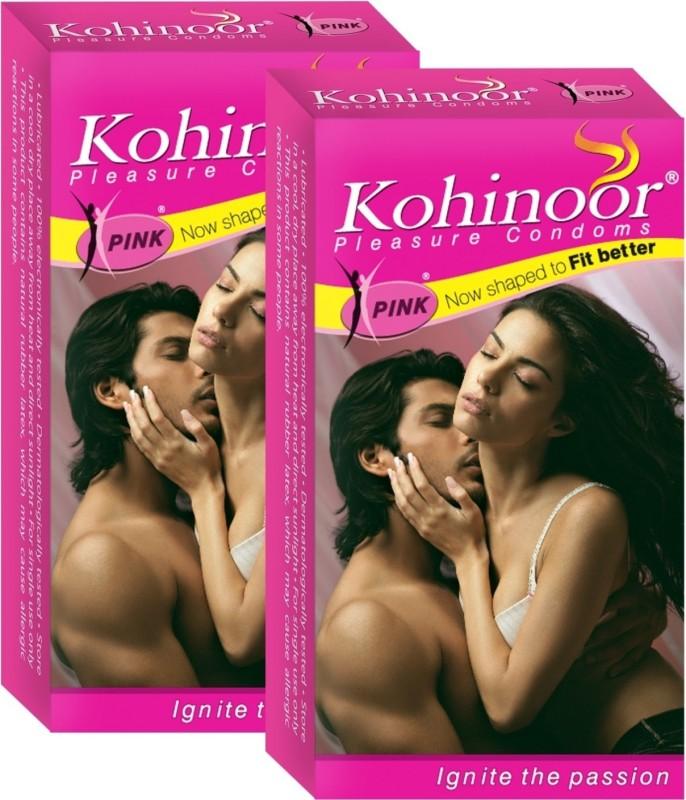 Kohinoor Pink pack of 30 Condom(Set of 30, 2S)