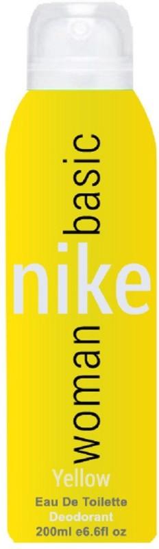 Nike Basic Yellow Body Spray - For Women(200 ml)