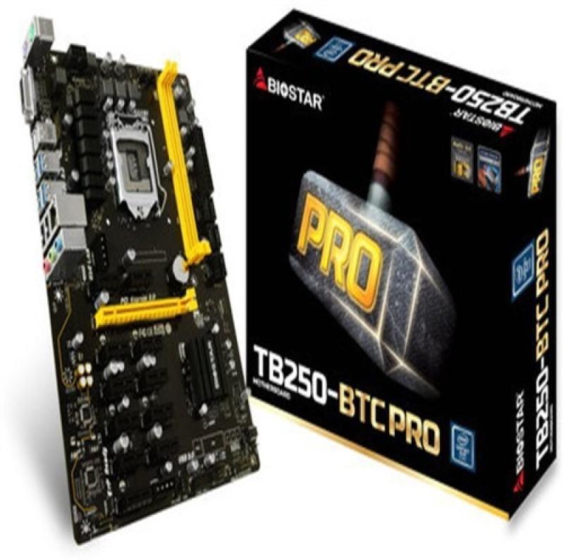 biostar TB250 BTC PRO Motherboard image