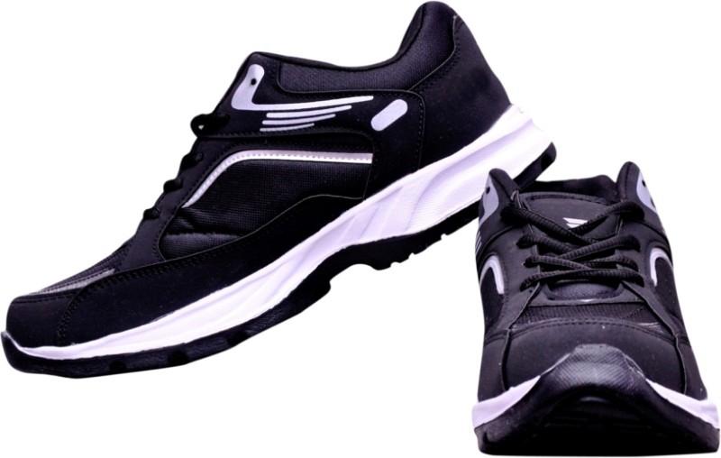 The Scarpa Shoes Begone Air Black Running Shoes For Men(Black)