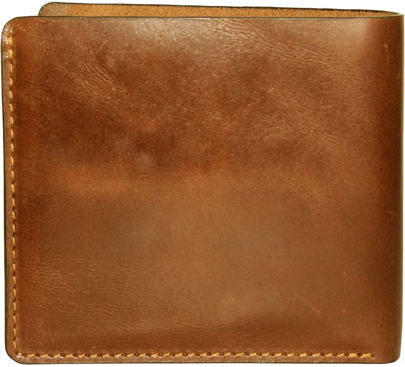 Tamanna Men Tan Genuine Leather Wallet(6 Card Slots)
