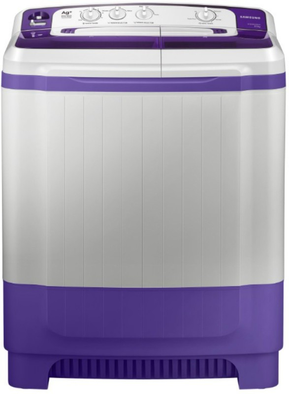 Samsung 8.5 kg Semi Automatic Top Load Washer Only White, Purple(WT85M4200HB/TL)