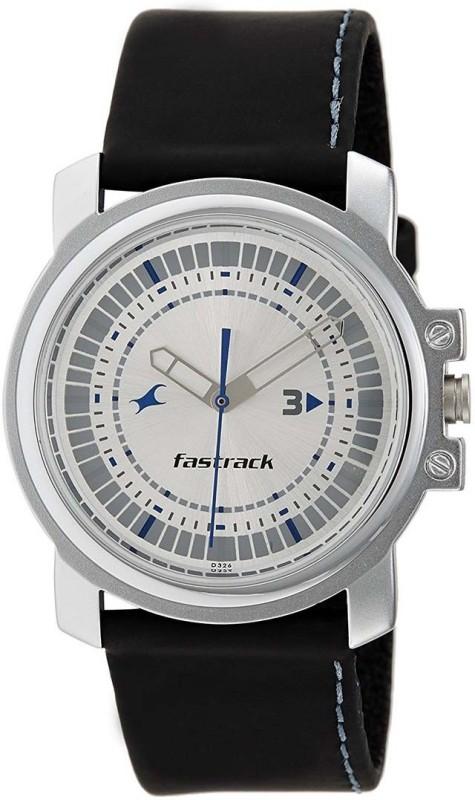 Fastrack NJ3039SL01C Men's Watch image