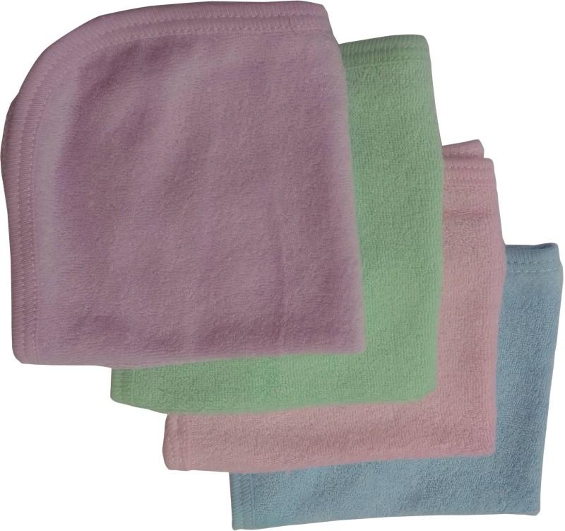 Yashline Multicolor Plain Baby Kids Rumal Handkerchief(Pack of 4)