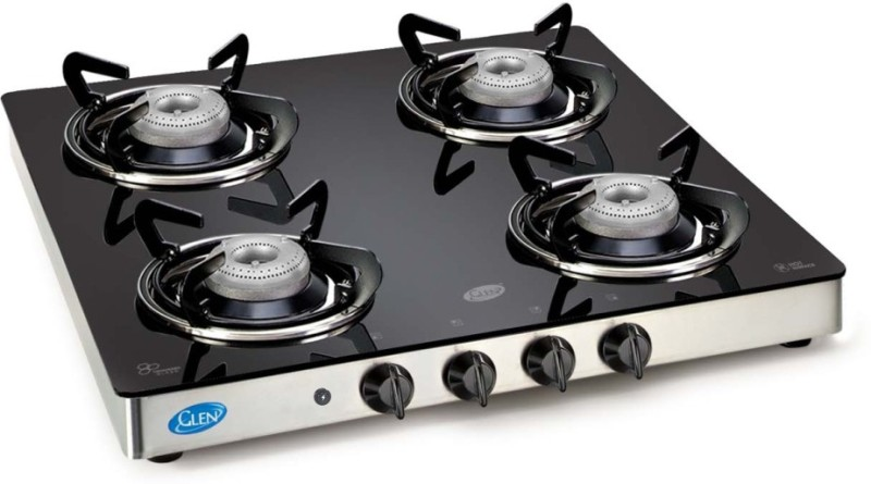 GLEN Glass Automatic Gas Stove(4 Burners)