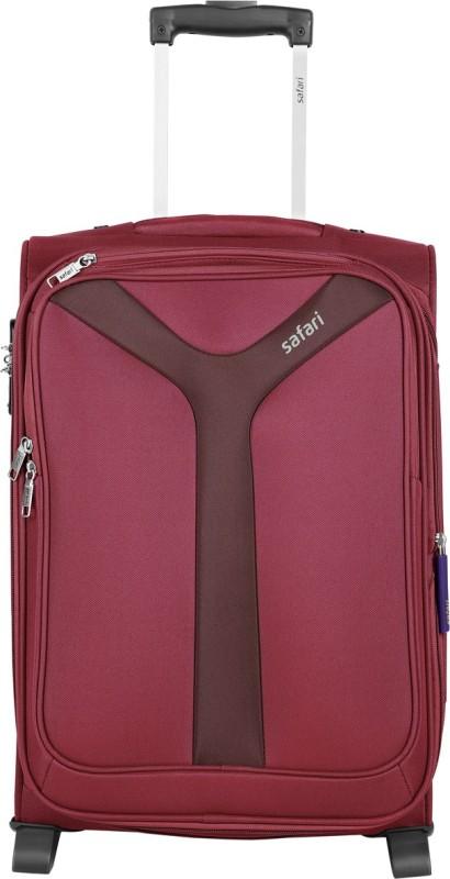 Safari Kayak Expandable Cabin Luggage - 21 inch(Red)
